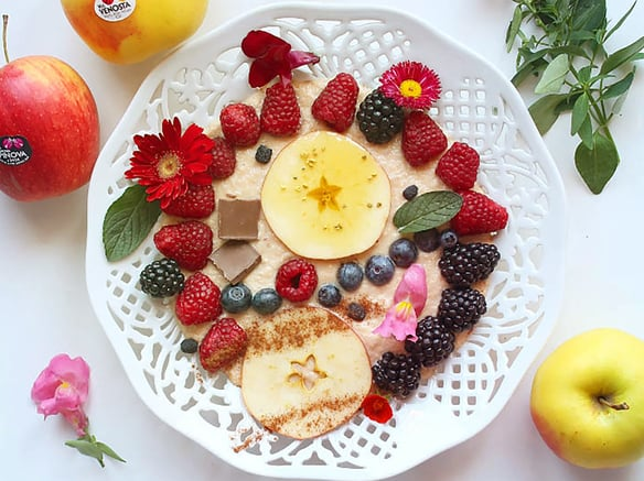 La tendencia de verano es el Smoothie Bowl<br>a base de frutas