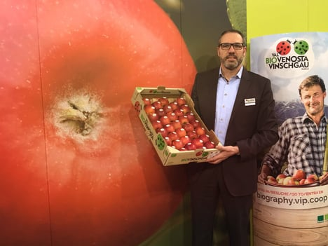 We want to be Europe's leading supplier of organic apples